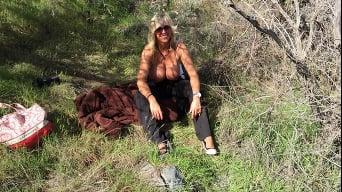 Sandra Otterson in 'Desert Knobjob'